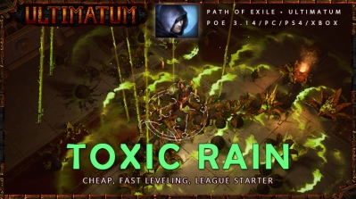 [Ultimatum] PoE 3.14 Trickster Toxic Rain League Starter Shadow Build