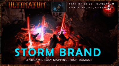 [Ultimatum] PoE 3.14 Assassin Storm Brand Endgame Shadow Build