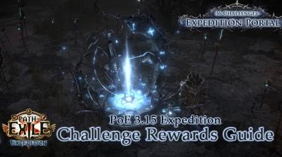 PoE 3.15 Expedition Challenge Rewards Details
