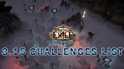 PoE 3.15 Expedition Challenges List