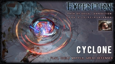 [Expedition] PoE 3.15 Duelist Cyclone Slayer Cheap Build