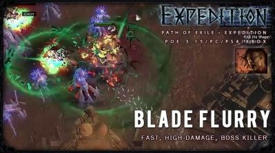 [Expedition] PoE 3.15 Mauarder Blade Flurry Berserker Boss Killer Build