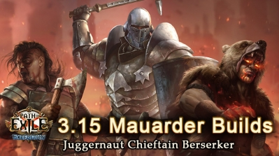 PoE 3.15 Expedition Mauarder League Starter Builds