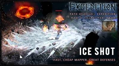 [Expedition] PoE 3.15 Ranger Ice Shot Deadeye Fast Build