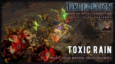 [Expedition] PoE 3.15 Ranger Toxic Rain Raider Starter Build