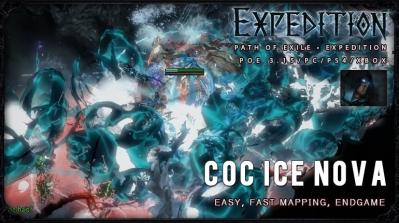 [Expedition] PoE 3.15 Shadow Ice Nova CoC Assassin Fast Build