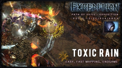 [Expedition] PoE 3.15 Shadow Toxic Rain Trickster Starter Build