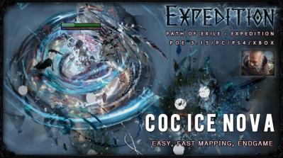 [Expedition] PoE 3.15 Templar CoC Ice Nova Inquisitor Fast Build