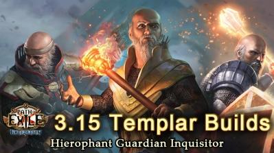 PoE 3.15 Expedition Templar League Starter Builds