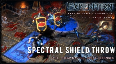 [Expedition] PoE 3.15 Duelist Spectral Shield Throw Gladiator Starter Build