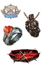 PC-Harvest/Carnage Heart+Thief's Torment+Belt of the Deceiver
