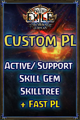 PC-Ritual/Custom PL(Includes:Fast PL Extra:Active Skill Gem+Support Skill Gem*5 and Skilltree)
