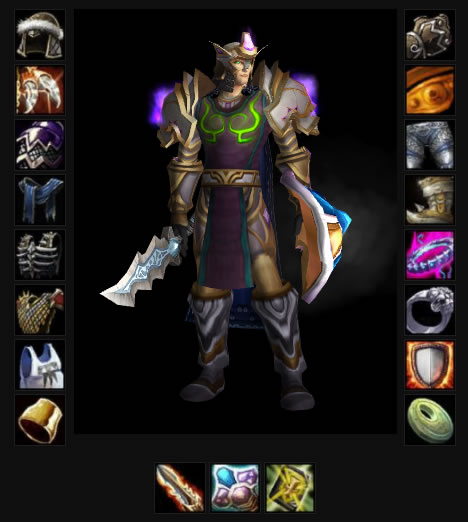 Medivh 70 Blood Elf Paladin