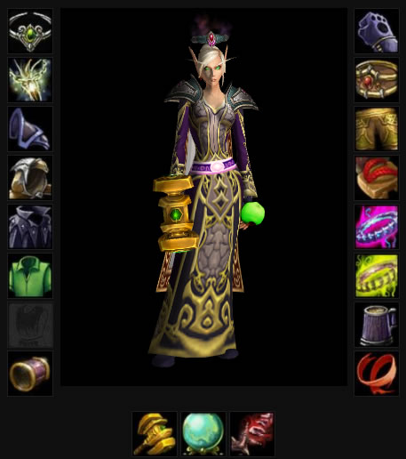 Medivh 70 Blood Elf Priest