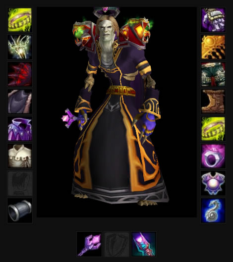 Medivh 70 Undead Magic
