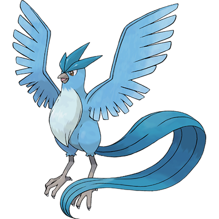 Shiny Pokémon Articuno On Switch