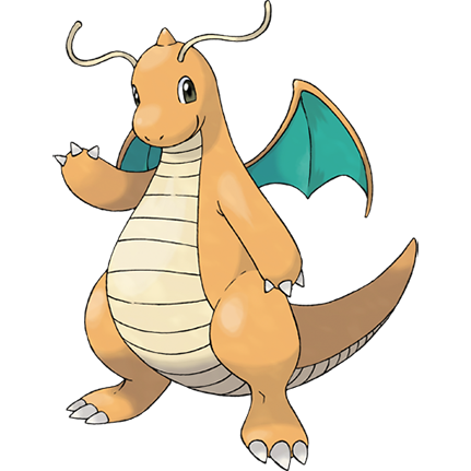 Shiny Pokémon Dragonite On Switch