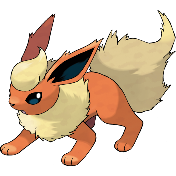 Shiny Pokémon Flareon On Switch
