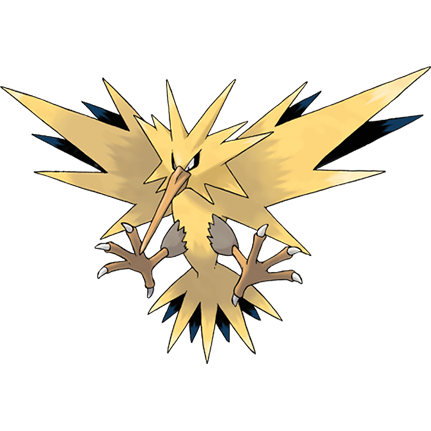 Shiny Pokémon Shine Zapdos On Switch